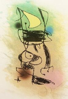 Le Grillon Sous La Lune 1978 Limited Edition Print - Joan Miro