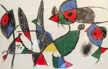 Untitled From Lithographes II, 1975  Limited Edition Print - Joan Miro
