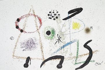 Maravillas  1975 Limited Edition Print - Joan Miro