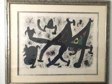 Homenatge Joan Prats 1971 Limited Edition Print by Joan Miro