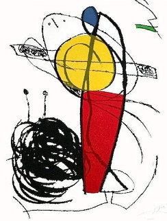Chanteurs Des Rues I 1981 Limited Edition Print by Joan Miro