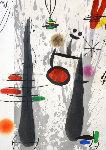 La Longue Et l'Avaporae 1973 Limited Edition Print - Joan Miro