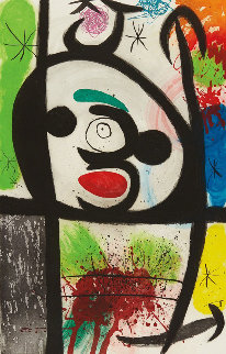 La Femme Toupie (The Spinning Woman), 1974 Limited Edition Print - Joan Miro