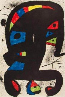 El Rei Garrell 1979 Limited Edition Print - Joan Miro