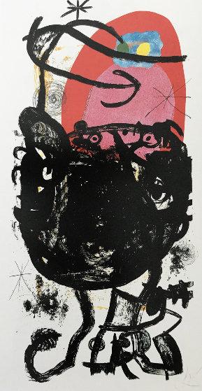 La Guerriere De Cent Ans 1975 Limited Edition Print by Joan Miro