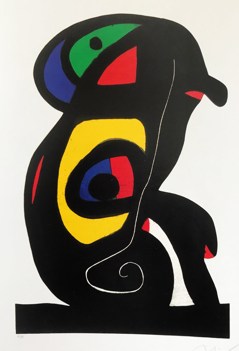 Le Brahmane 1978 HS Limited Edition Print by Joan Miro