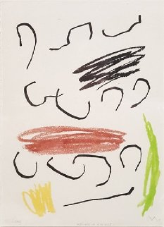 Untitled Lithograph  (from Obra Inedita Recent) 1964 Limited Edition Print by Joan Miro