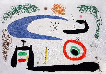 Dormir Sous La Lune 1969 Limited Edition Print - Joan Miro
