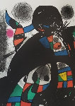 San Lazzaro Et Ses Amis Limited Edition Print - Joan Miro