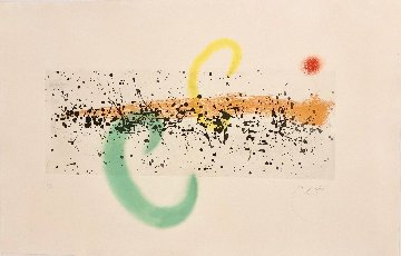Lune Et Vent (Moon And Wind), Dupin 346 1963 Limited Edition Print by Joan Miro