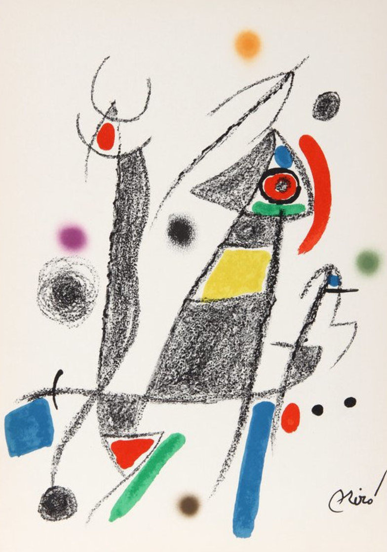 Maravillas 1975 Limited Edition Print by Joan Miro