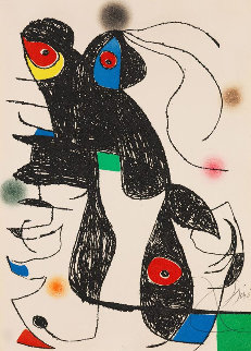 Paroles Peintes 1975 Limited Edition Print by Joan Miro