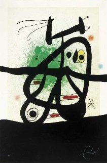 l'oiseau Mongol 1969 Limited Edition Print by Joan Miro