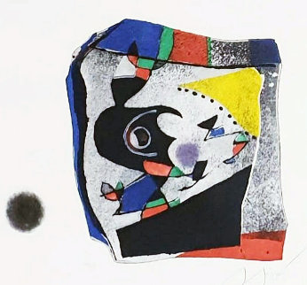 Gaudi IX 1979 Limited Edition Print - Joan Miro