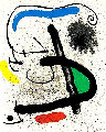 Cahier d'Ombres by Philippe Denis 1971 Limited Edition Print - Joan Miro