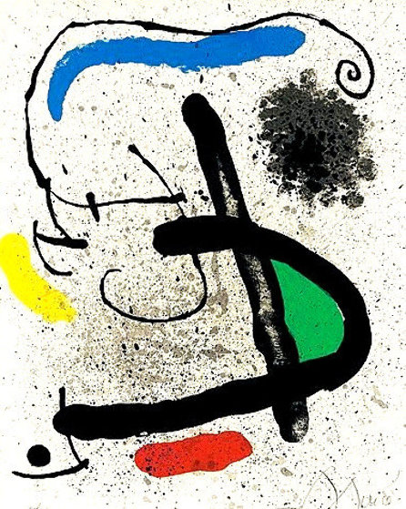 Cahier d'Ombres by Philippe Denis 1971 Limited Edition Print by Joan Miro