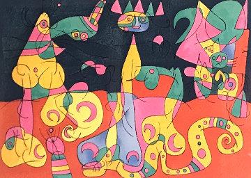 Ubu Roi 1966 Limited Edition Print - Joan Miro