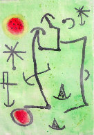 Untitled Aquatint AP  Limited Edition Print by Joan Miro - 0