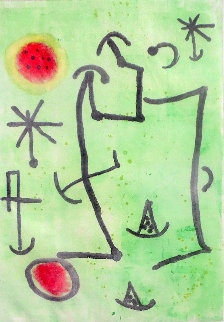Untitled Aquatint AP  Limited Edition Print by Joan Miro