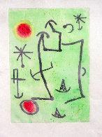 Untitled Aquatint AP  Limited Edition Print by Joan Miro - 1