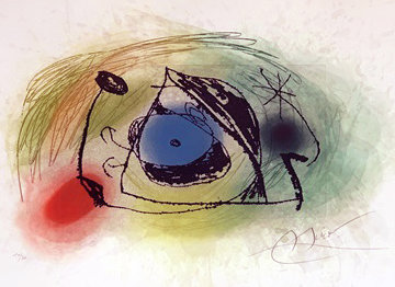 La Musaraigne 1978 Limited Edition Print by Joan Miro