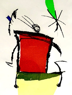 Chanteur Des Rues Verso 1981 Limited Edition Print by Joan Miro