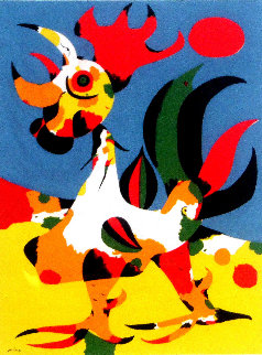 Le Coq 1970 Limited Edition Print - Joan Miro