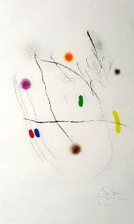 Grave Sur Le Givre II AP 1972 Limited Edition Print - Joan Miro