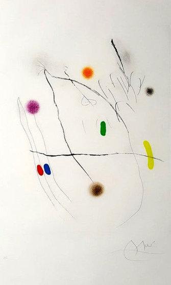 Grave Sur Le Givre II AP 1972 by Joan Miro