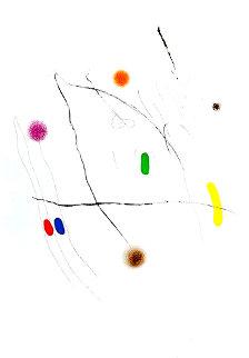 Grave Sur Le Givre II AP 1972 HS Limited Edition Print - Joan Miro