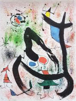 Seers IV 1970 Limited Edition Print - Joan Miro
