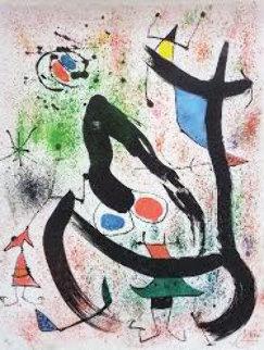 Seers IV (Les Voyants), M.664, 1970 HS Limited Edition Print - Joan Miro