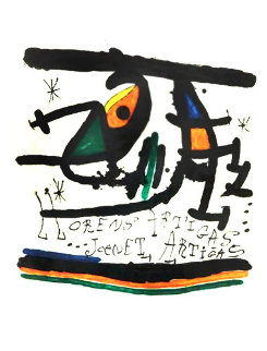 Llorens Artigas Limited Edition Print - Joan Miro