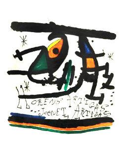 Llorens Artigas HSk Limited Edition Print - Joan Miro