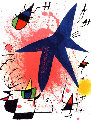 l'etoile Bleu - Blue Star AP  Limited Edition Print - Joan Miro