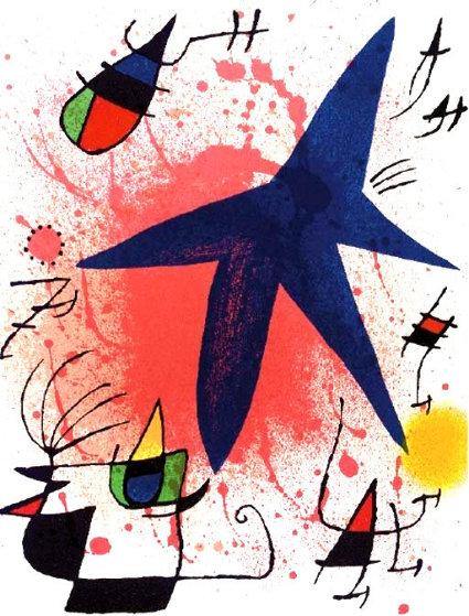 l'etoile Bleu - Blue Star AP  Limited Edition Print by Joan Miro