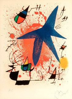 l\'etoile Bleu - Blue Star AP 1972 Limited Edition Print - Joan Miro