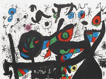 Homenatge a Joan Prats 1969 HS Limited Edition Print - Joan Miro