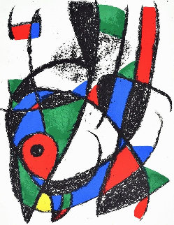 Lithograph I 1974 Limited Edition Print - Joan Miro