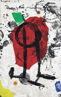 Els Gossos  1979 Limited Edition Print by Joan Miro