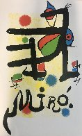 Untitled Lithograph Limited Edition Print by Joan Miro - 1