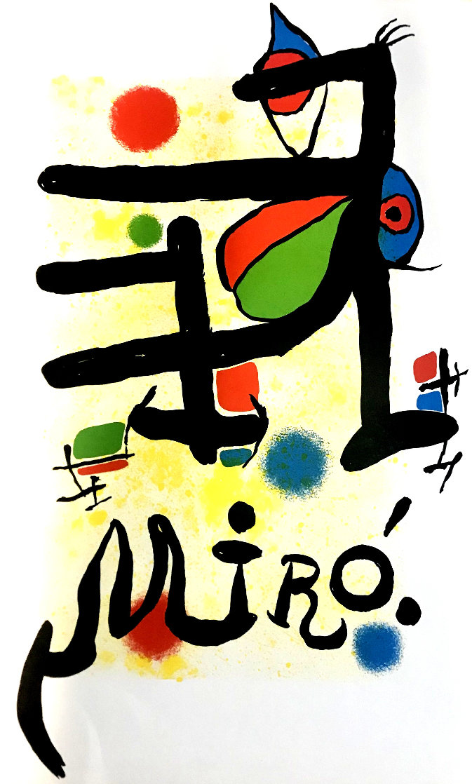 Untitled Lithograph Limited Edition Print by Joan Miro