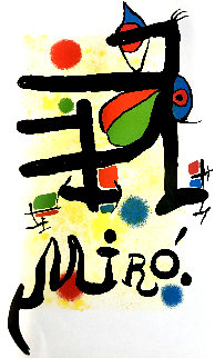 Untitled Lithograph Limited Edition Print - Joan Miro