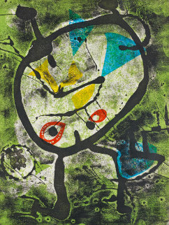 Grans Rupestres II 1979 Limited Edition Print by Joan Miro