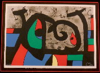 Lezard Aux Plumes D'or HS Limited Edition Print by Joan Miro - 1