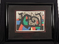 Lezard Aux Plumes D'or HS Limited Edition Print by Joan Miro - 2