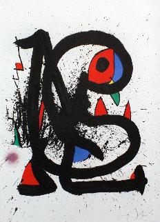 Mangeure De Foudre 1973 Limited Edition Print - Joan Miro