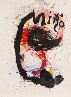 Oeuvre Gravee-ceramiques HS Limited Edition Print - Joan Miro