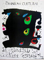 Omnium Cultural Poster, Barcelona Poster 1974 Limited Edition Print by Joan Miro - 0