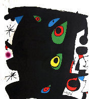 Omnium Cultural Poster, Barcelona Poster 1974 Limited Edition Print by Joan Miro - 1